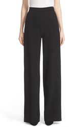 Lela Rose Women's Stretch Wool High Waist Pants