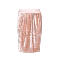 Nina Ricci Velvet Skirt Rose The