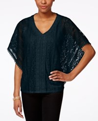 Styleandco. Style And Co. Crochet Poncho Top Only At Macy's