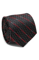 Cufflinks Inc. Men's Darth Vader Light Saber Silk Tie Black