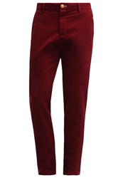 New Man Sparrow Trousers Bordeaux