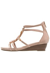 Xti Wedge Sandals Nude