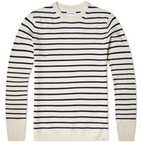 Norse Projects Sigfred Lambswool Knit White