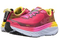 Hoka One One Bondi 5 Virtual Pink Blazing Yellow Women's Running Shoes