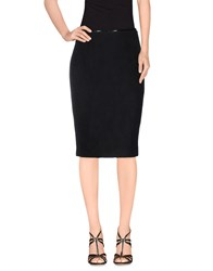 Mariella Rosati Skirts Knee Length Skirts Women Dark Blue