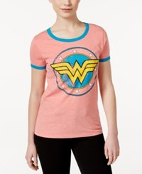 Bioworld Juniors' Wonder Woman Graphic T Shirt