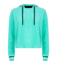 Juicy Couture Behati Velour Pullover Female Mint