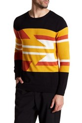 Parke And Ronen Aztec Knit Sweater Multi