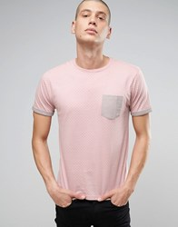 Brave Soul Spot Contract T Shirt Pink
