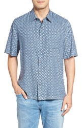 Nat Nast Men's Double Shot Silk Blend Sport Shirt