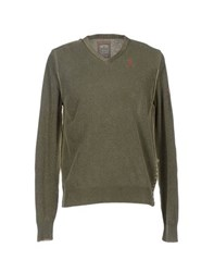 Tortuga Knitwear Jumpers Men Military Green