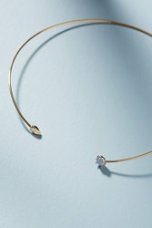 Anthropologie Caia Choker Necklace White