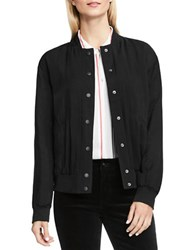 Vince Camuto Rumpled Lightweight Bomber Jacket Rich Black