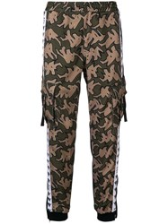 Kappa Cargo Tracksuit Trousers Green