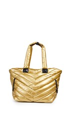 Mackage Rox Nylon Tote Gold Nickel
