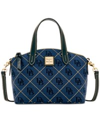 Dooney And Bourke Signature Quilt Ruby Small Bag A Macy's Exclusive Style Navy