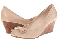 Cole Haan Tali Grand Bow Wedge 65 Maple Sugar Women's Wedge Shoes Taupe