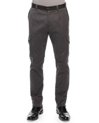 Dolce And Gabbana Cargo Jogger Pants Gray