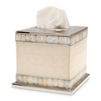 Julia Knight Classic Tissue Box Snow