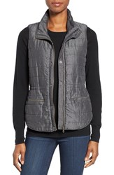 Nic Zoe Women's Denim Puffer Vest