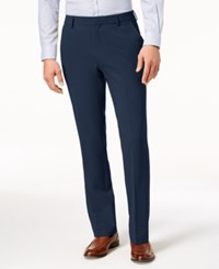 Kenneth Cole New York Stretch Twill Dress Pants Indigo