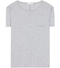Rag And Bone X Boyfriend Cotton T Shirt Grey