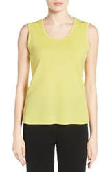 Ming Wang Women's Scoop Neck Knit Tank