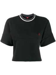 Perfect Moment Cropped T Shirt Black