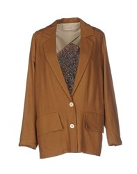 Momoni Momoni Suits And Jackets Blazers Women Brown