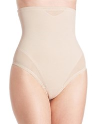 Miraclesuit Thong High Waist Cincher Cupid Nude