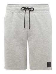 Religion Men's Square Logo Shorts Grey Marl