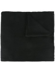 Liska Knitted Scarf Black