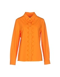 Moschino Cheap And Chic Moschino Cheapandchic Shirts Shirts Women Orange