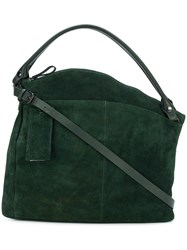 Marsell Asymmetric Tote Green