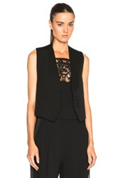 Givenchy Gilet In Black