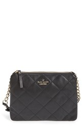 Kate Spade New York 'Emerson Place Harbor' Quilted Leather Crossbody Bag Black