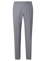 Daniel Hechter Textured Marl Tailored Fit Suit Trousers Grey