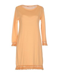 Kontatto Dresses Short Dresses Women Apricot
