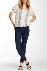 Joie Classic Mid Rise Skinny Jean Blue