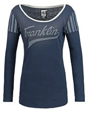 Franklin And Marshall Long Sleeved Top Navy Dark Blue