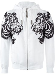 Philipp Plein 'Unpleasant' Jacket White
