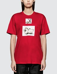 Burberry Deer Print Short Sleeve T Shirt