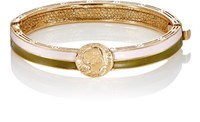 Maison Mayle Women's Dos Passos Hinged Bangle Pink