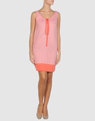 Wesc Dresses Short Dresses Women Coral