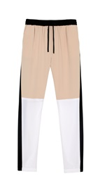 Tibi Colorblock Paneled Track Pants
