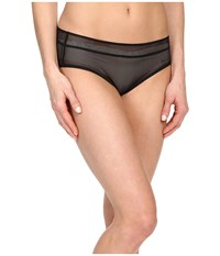Dkny Signature Bikini Black Fishnet Women's Underwear