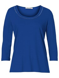 Betty Barclay Embellished T Shirt Blue
