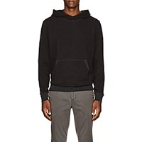 Atm Anthony Thomas Melillo Cotton Blend Terry Hoodie Charcoal