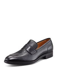 Peccary Loafer Nero Gravati Brown