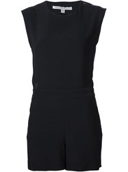 Veronica Beard 'Yadira' Romper Black